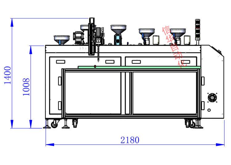 灌胶机尺寸