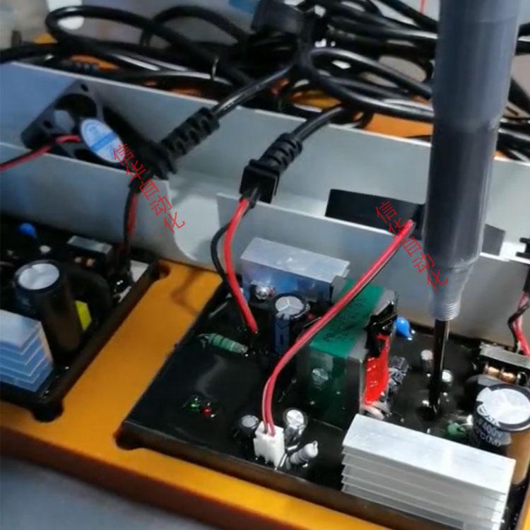 电动车充电器灌胶机二次补胶图