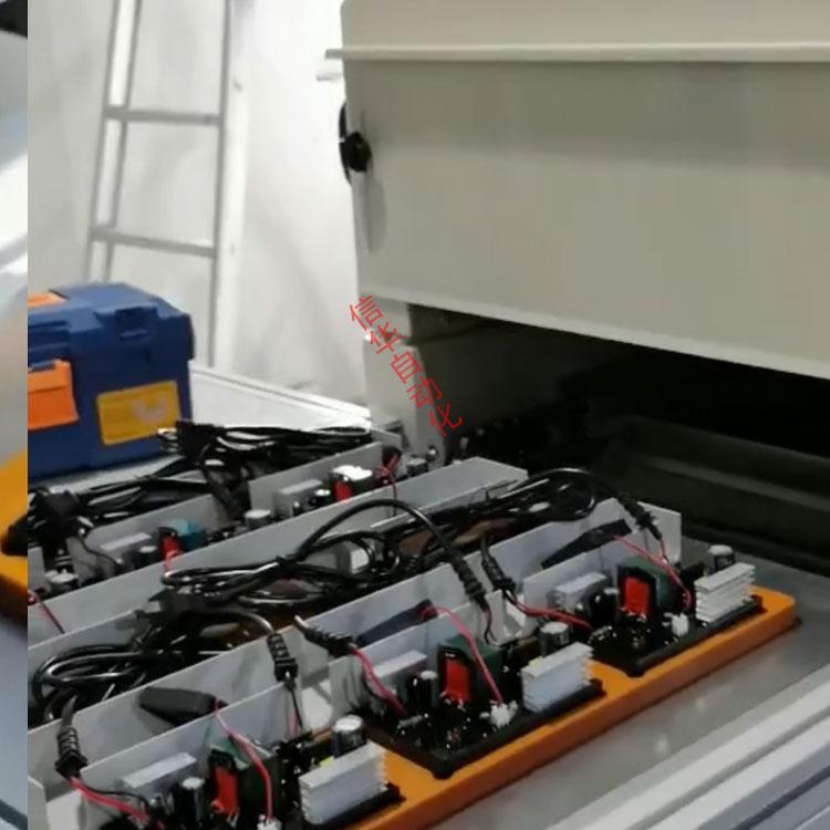 电动车充电器灌胶后进烤箱图