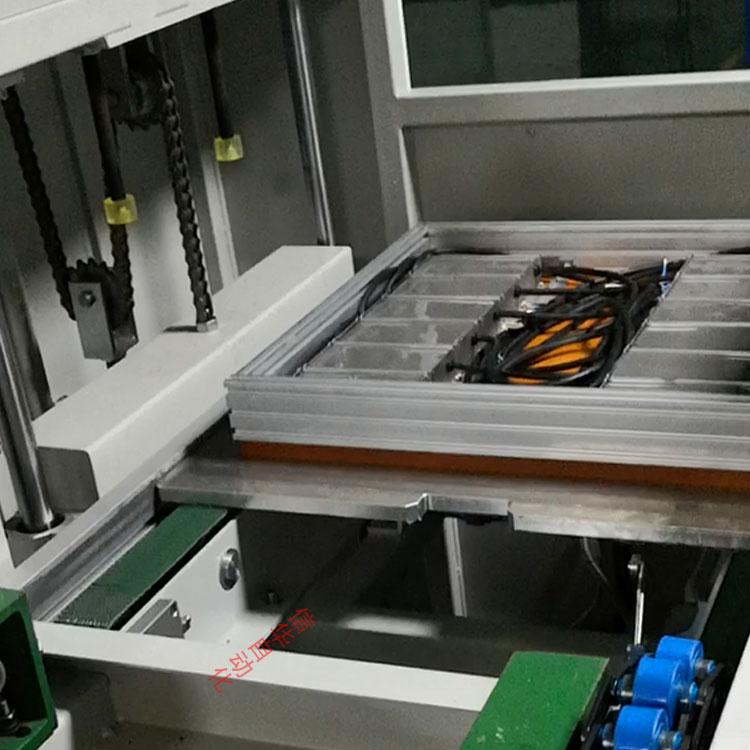 全自动电源灌胶机流水线治具回收