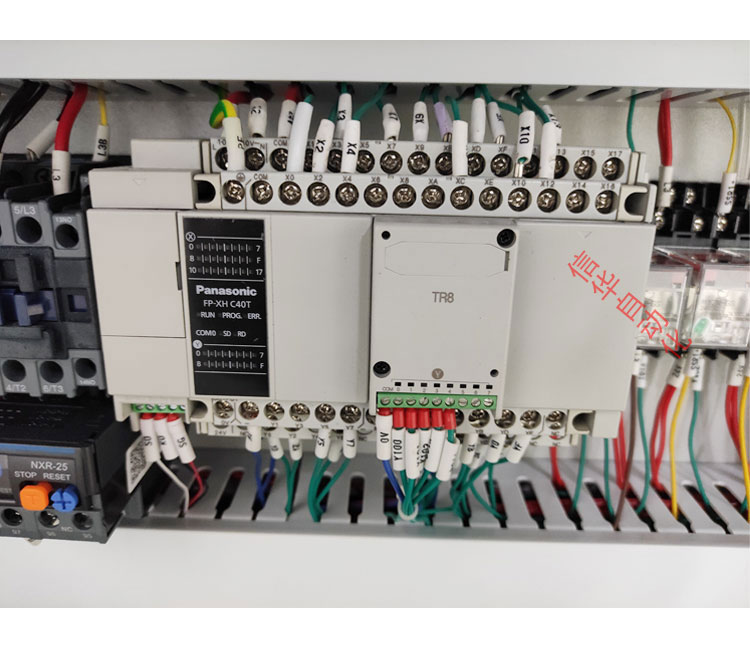 互感器灌胶机细节PLC