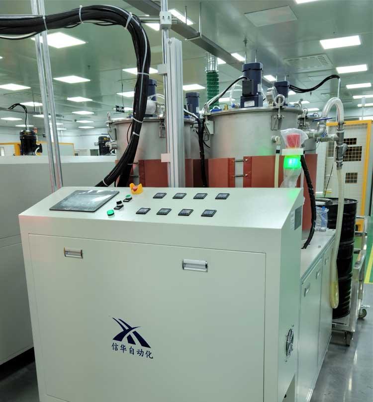 全自动灌胶机器人供胶系统