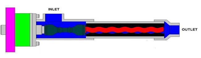 柱塞泵灌胶机工作原理图