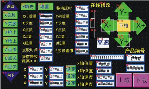灌胶机PLC控制系统