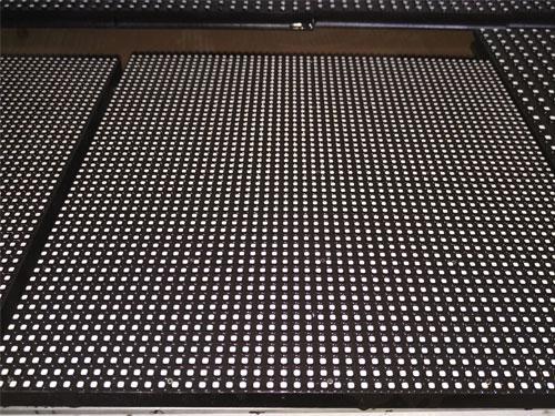 灌完胶后的LED表贴屏