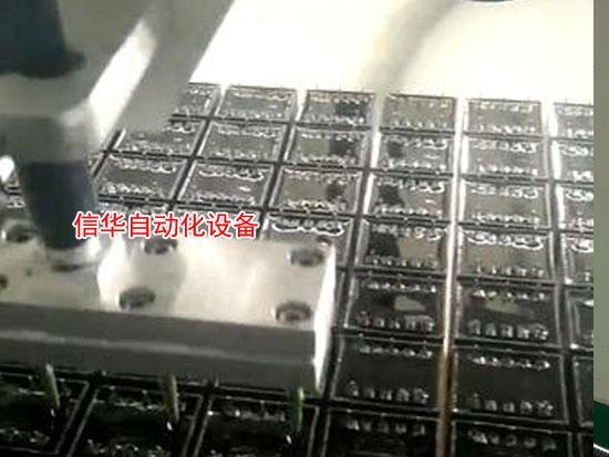 全自动双液灌胶机二次灌胶