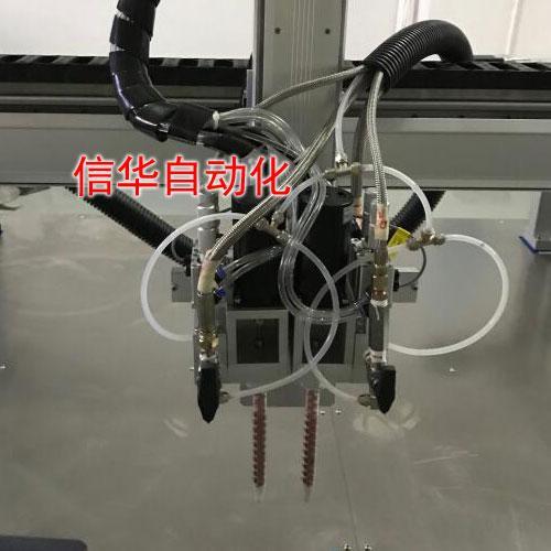 水族水泵灌胶机双灌胶头
