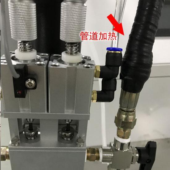 电容灌胶机管道加热