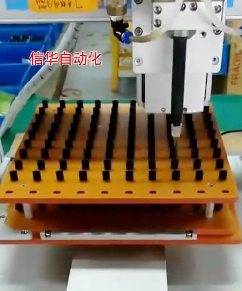 微量传感器灌胶机动态混合