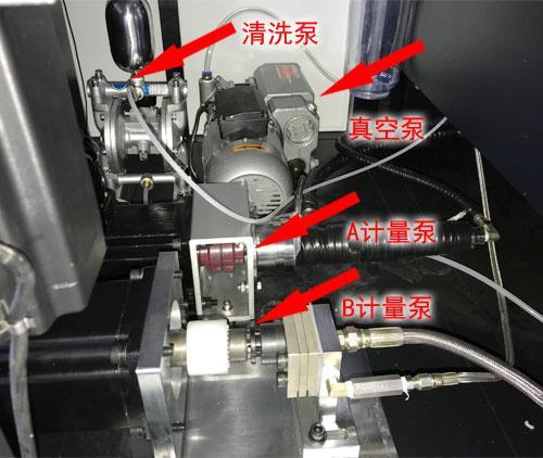 微量传感器灌有胶机真空泵
