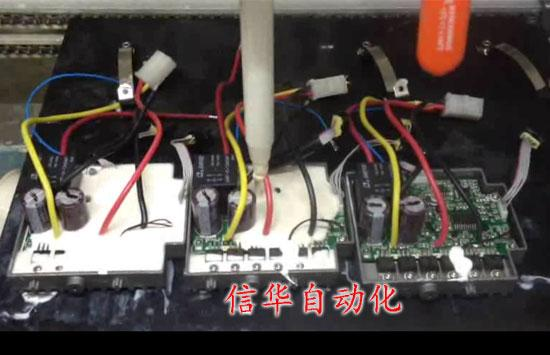 电动工具控制器灌胶