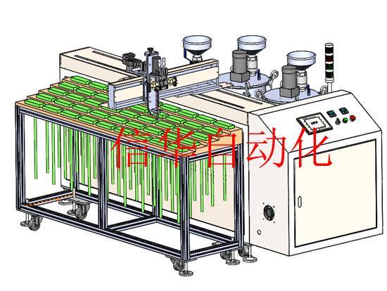 悬臂式自动灌胶机与有线产品兼容图