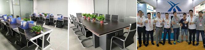 信华灌胶机办公环境及销售团队